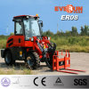 Front端LoaderのEverun Brand 800kg Small Farm TractorかPallet ForksのCompact Wheel Loader