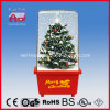 Delicado Árbol de Navidad Decoración colorida Nevando Box