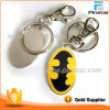 Keyring duro do metal do batman do esmalte da forma por atacado da fábrica