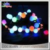 Alameda/luzes da corda do diodo emissor de luz da decoração das esferas do PVC Natal de Hotal