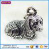 Encantos pendientes del perro del metal de la venta al por mayor del encanto del metal 3D