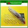 Escritura de la etiqueta/etiqueta engomada del vacío del pegamento del papel del cartón del pisón del animal doméstico