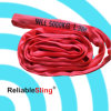 5t 3m Red Highquality Polyester Endless Round Slings Factory