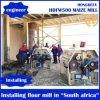 Moinho de farinha do milho para África