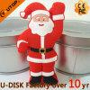 Disco feito sob encomenda do USB do presente relativo à promoção do Natal de Papai Noel (YT-Velho)