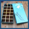 Boîte d'emballage chaude de vente de chocolat bleu d'impression (CMG-PCB-030)