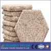 El panel acústico del cemento de las lanas de madera de la absorción sana