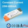 800mA konstante Stromversorgung des Bargeld-LED mit Energie 25W