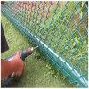 Загородка звена цепи PVC Кита покрытая