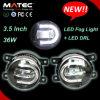 DRL를 가진 새로운 크리 사람 3.5inch 차 기관자전차 안개등 LED