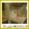 Honey Polished Onyx Marble Countertop per Kitchen/Bathroom (YQC)