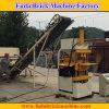 Venta auto de la máquina de fabricación de ladrillo de la arcilla del Vibro en Nigeria