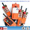 천장 기중기 호이스트 통제를 위한 기중기 무선 원격 제어 F21