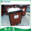 방수 나무로 되는 페달 옥외 쓰레기 통 (FY-205G-2)