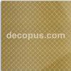 Il vetro di ceramica della parete di disegno di griglia copre di tegoli le mattonelle della parete di Bathroom&Kitchen di colore dell'oro