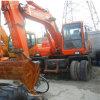 Verwendeter Doosan Rad-Exkavator/Secondhand fahrbarer hydraulischer Exkavator (DH150W-7)