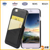 Caixa colorida do telefone do couro da carteira da aleta da impressão para Samsung