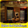 L'OEM de Keenhai a personnalisé la crémaillère d'étalage de stand de Module de vin d'acier inoxydable