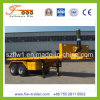 20feet 2axle Flatbed Tipper Semi Trailer