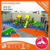 O equipamento ao ar livre do jogo do jardim de infância desliza o campo de jogos ao ar livre