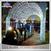 Weiße Bogen-Motiv-Lichter der LED-Weihnachtspark-Dekoration-LED