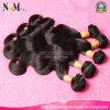 Aliexpress Haar-brasilianische Karosserien-Wellen-preiswerte Menschenhaar-Extensions-unverarbeitetes Großhandelsjungfrau-Brasilianer-Haar