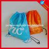 Kundenspezifischer roter grüner Rucksack-Nylongroßverkauf
