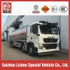 caminhão de petroleiro do combustível da liga de alumínio da capacidade de 8X4 Sinotruk HOWO 30000L
