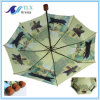 أنيق يطوي عادة يطبع [غلّريا] خشبيّة مقبض مطر مظلة