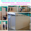 Dimensões do OEM Sala fria modular com painéis PU PU de bloqueio