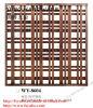 Metal / Pantallas acero inoxidable / cobre Divisor para la sala de estar (WY-8604)