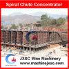 Separador del espiral de la máquina de la reducción del rutilo para la planta de mina negra de la arena