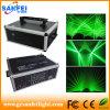 Лазер лазерного луча 8W Green диско одушевленност