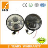 5.67inch LED Headlight Harley 5.75 '' LED Headlight met Halo Ring