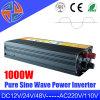 12/24 / 48V DC, 110 / 220V CA, onda sinusoidal pura inversor de la energía, 1000W