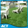 Césped artificial L35-B del césped del jardín de la hierba de 4 colores que ajardina