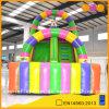 Corrediça inflável colorida do palhaço de circo do equipamento da ginástica (AQ976)