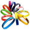 Wristband differente del silicone di sport di colore di abitudine per il regalo (XD-030210)