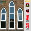 Finestra insonorizzata del telaio dell'arco di PVC/UPVC (ROPO13608)