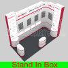O Fácil-Conjunto portátil de DIY e desmonta a feira profissional verde modular da exposição que anuncia o equipamento