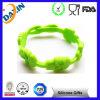 Schnelle Anlieferungs-kundenspezifischer preiswerter Silikon-GummiWristband