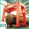 Tipo del magnesio grúa de pórtico de la viga del doble de 100 toneladas