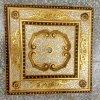 Plafond artistique décoratif Dl-1184-1 de Bracade de Bourgogne et de valeur de premier ordre