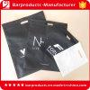 Grande stampa tagliata non tessuta personalizzata del sacchetto di acquisto del nero