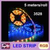 La luz de tira impermeable de la alta calidad 3528 LED 5 mide 300 LED RGB