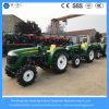 Trattori elettrici a ruote agricoli di inizio utilizzati campo differente dell'azienda agricola 4WD