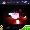 Assento iluminado mobília do cubo do diodo emissor de luz da barra de mudança da cor (PLT-FC018)