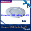 2/3years WarrantyのYaye CE/RoHS Passed Round 6W LED Panel Light/6W Round LED Panel Lights