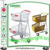 Mémoire américaine de Style Convenient Shopping Cart avec Two Tiers