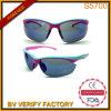 Form Double Injection Sport Suneyewear mit Nose Pad und Halfrim